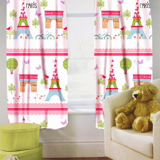 Enfants-rideaux-Maternelles-Enfants-Junior-Tweens-bandeau-superieur-et-plis-serres-tiebacks miniature 33