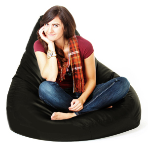 Beanbag Gamer Chair Adult Gaming Bean Bag Faux Leather Xxl
