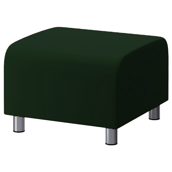 gr ne baumwolle bezug f r ikea klippan fu bank sofa berwurf schemel 5055889331801 ebay. Black Bedroom Furniture Sets. Home Design Ideas