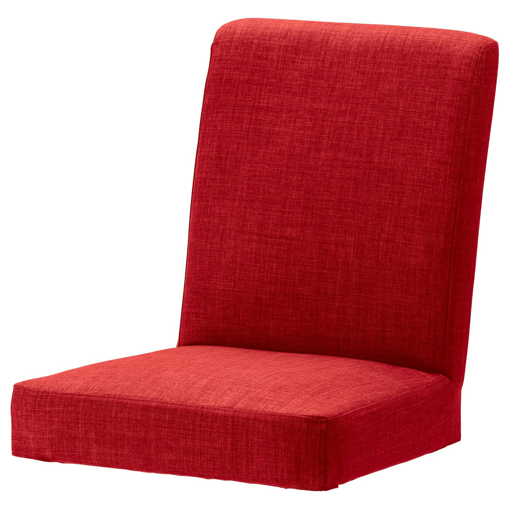ersatz belegabdeckung f r ikea henriksdal essstst hle leinen effekt stoff ebay. Black Bedroom Furniture Sets. Home Design Ideas