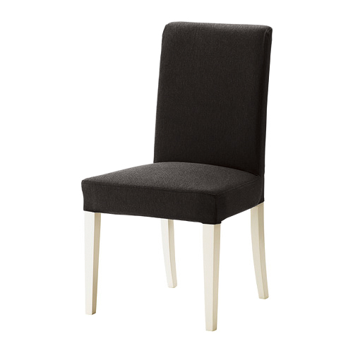 replacement slip cover for ikea henriksdal dining chairs in linen effect fabric ebay. Black Bedroom Furniture Sets. Home Design Ideas