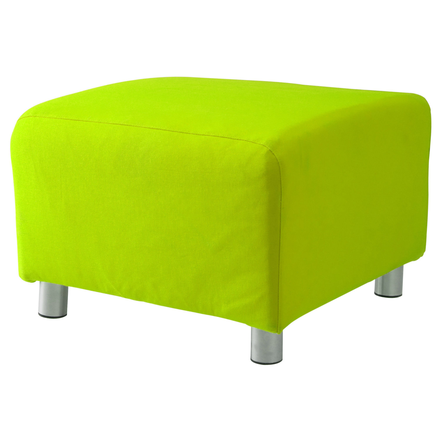 Custom Slip Cover for Ikea Klippan Footstool 100% Cotton Sofa
