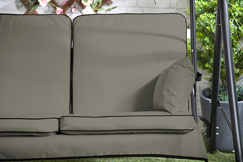 Replacement Swing Seat Hammock Cushions Set For 2 U0026 3 Seater Sizes Pads  Garden | EBay