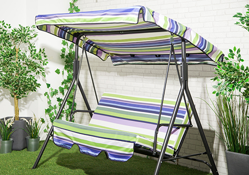 Replacement 2 Amp 3 Seater Swing Seat Canopy
