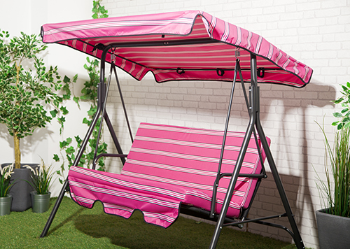 Replacement 2 Amp 3 Seater Swing Seat Canopy Cover Amp Cushion