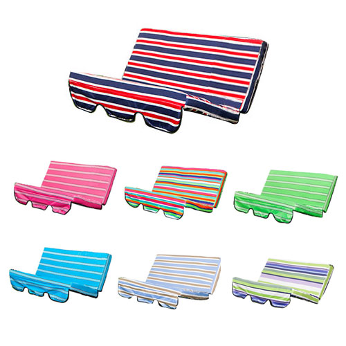 Stripes Replacement Cushion Swing Seat Hammock Garden Pads Waterproof 2 3 Seater Ebay