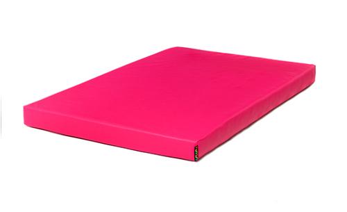 Pink 90cm X 90cm X 10cm Extra Thick Landing Crash Mat Foam
