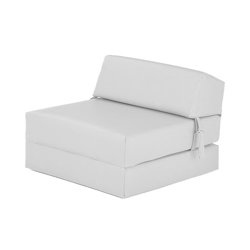 Tremendous White Faux Leather Double Chair Bed Z Guest Fold Out Futon Sofa Mattress Sofabed Camellatalisay Diy Chair Ideas Camellatalisaycom