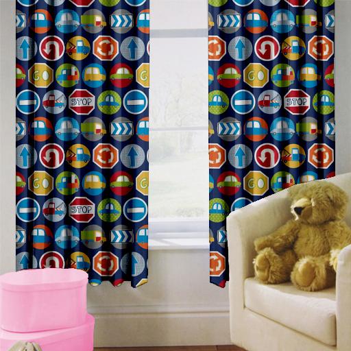 Enfants-rideaux-Maternelles-Enfants-Junior-Tweens-bandeau-superieur-et-plis-serres-tiebacks miniature 37