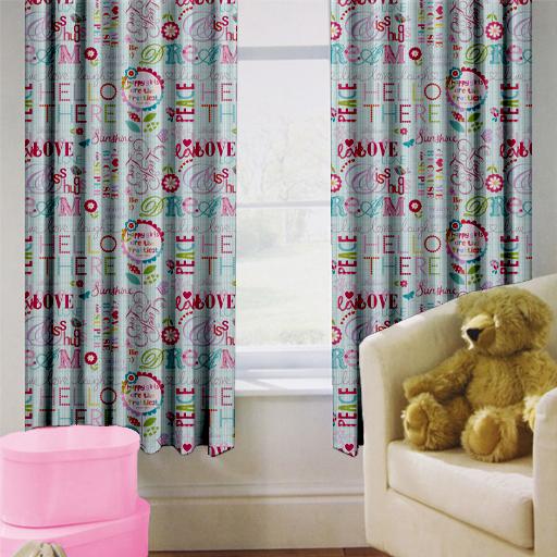 Enfants-rideaux-Maternelles-Enfants-Junior-Tweens-bandeau-superieur-et-plis-serres-tiebacks miniature 23