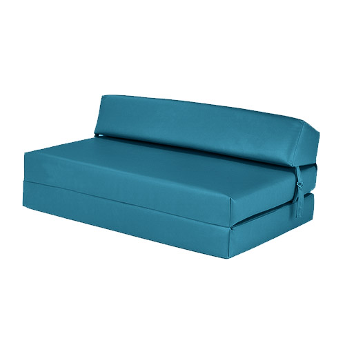 Faux Leather Fold Out Z Bed Single Double Futon Chair Bed
