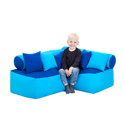 Large Corner Sofas Ebay Uk: Kids Corner Sofa Neon Vegan Sofa Bed Everyday Use Bespoke