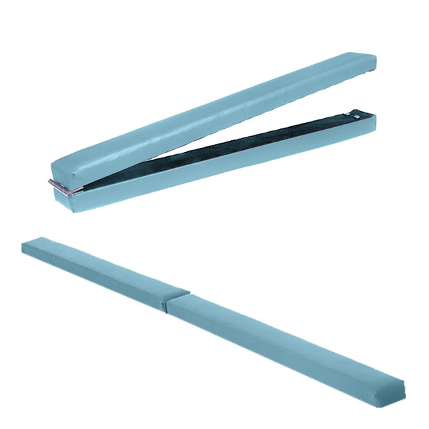 Gymnastics-Folding-Balance-Beam-2-1M-Hard-Wearing-Faux-Leather-Home-Gym-Training