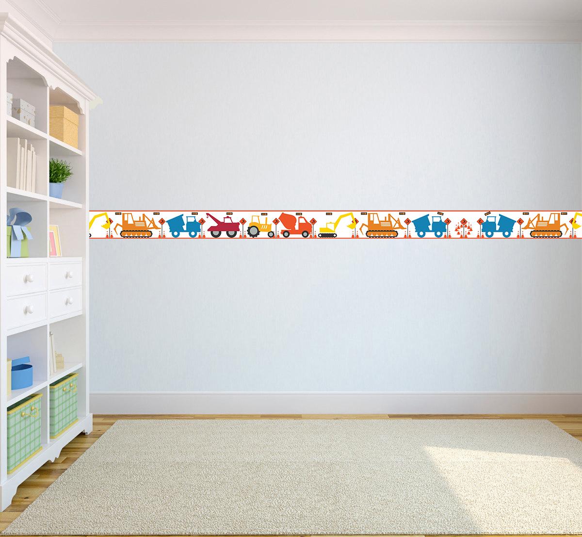 Wallpaper Borders Childrenu0027s Kids Nursery Boys Girls Bedroom Wall Self  Adhesive | EBay