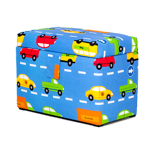Toy Box Large Solid Wood Storage Chest Trunk Playroom: Children's Large Upholstered Wooden Toy Box Chest Soft