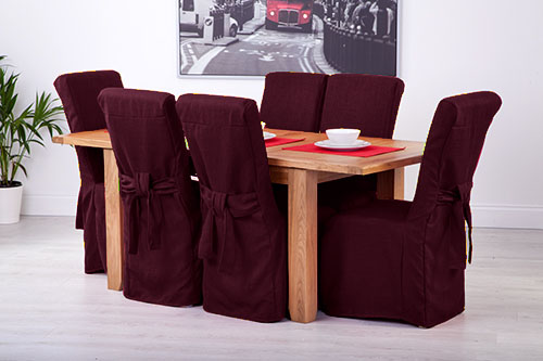 Oak Dining Chairs Seat Covers Picture 2 Of 5 3