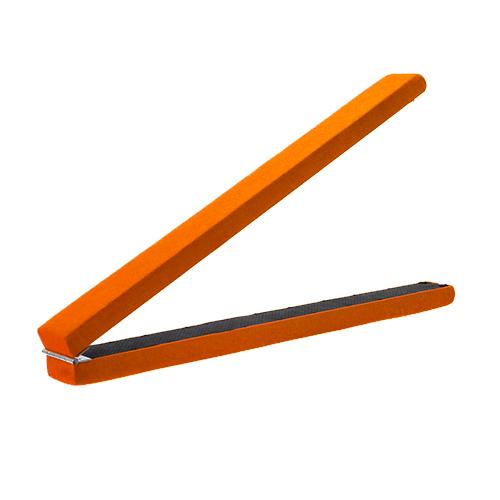 Gymnastics folding balance beam 2 1m hard wearing suedine for Bright beam goods