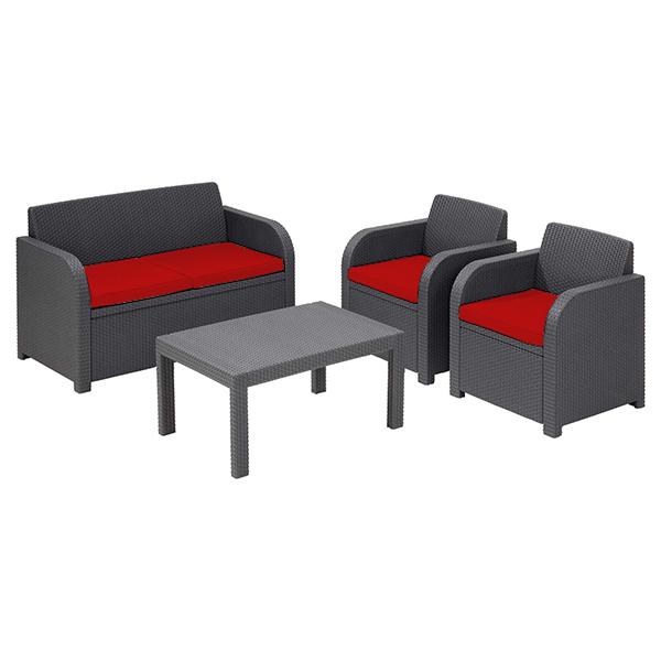 Replacement Cushion Set To Fit Keter Allibert Carolina 4