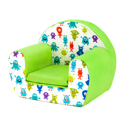 Magnificent Details About Monsters Aliens Childrens Kids Comfy Foam Chair Toddlers Armchair Seat Reading Theyellowbook Wood Chair Design Ideas Theyellowbookinfo