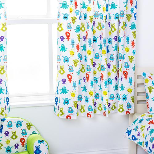 Enfants-rideaux-Maternelles-Enfants-Junior-Tweens-bandeau-superieur-et-plis-serres-tiebacks miniature 29