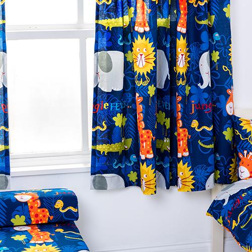 Enfants-rideaux-Maternelles-Enfants-Junior-Tweens-bandeau-superieur-et-plis-serres-tiebacks miniature 25