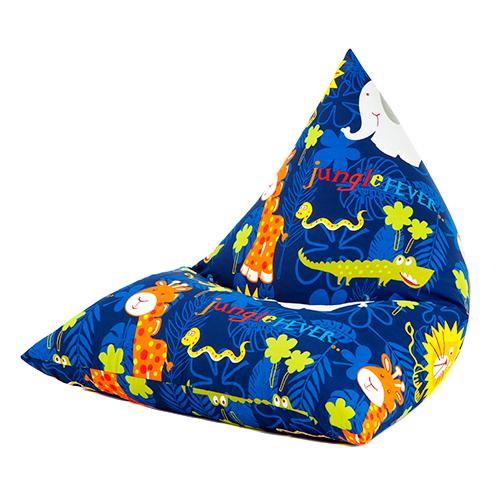 Children-039-s-Pyramid-Shape-Bean-Bag-Chair-Gaming-Large-Kids-Beanbag-Gamer-Highback