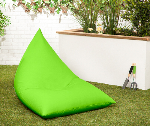 Waterproof Large Pyramid Shaped Garden Bean Bag Gamer
