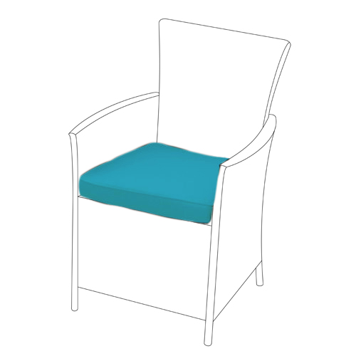 Details About Replacement Dining Chair Cushions To Fit Rattan Garden Furniture Patio Wicker