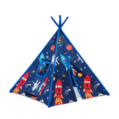 Large-Children-039-s-Fabric-Play-Tent-Teepee-  sc 1 st  eBay & Large Childrenu0027s Fabric Play Tent Teepee Wigwam Garden Kids Indoor ...