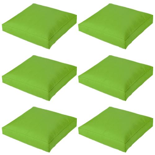 Chaux paquet de 6 g ant grand tanche ext rieur coussin for Coussin sofa exterieur