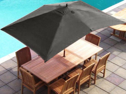 ersatz wasserdichtes gewebe garten sonnenschirm baldachin abdeckung 6 arm sonne ebay. Black Bedroom Furniture Sets. Home Design Ideas