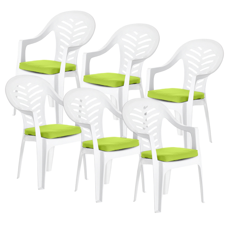 Cushion Pads for Resol Palma / Cool Plastic Garden Chairs ...