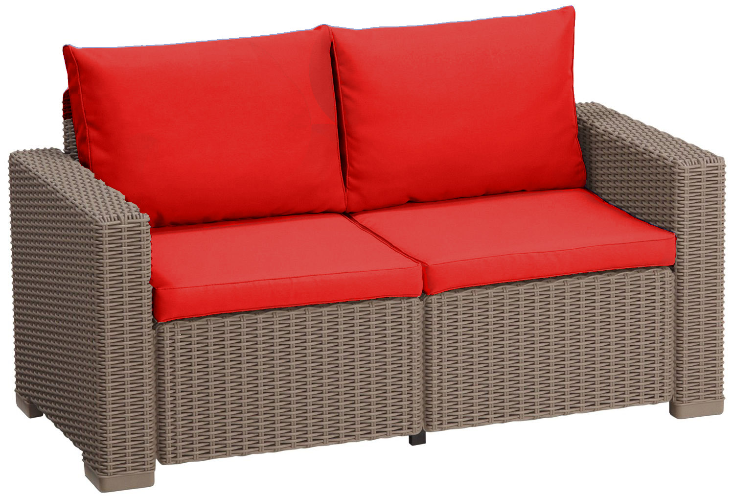 cushion pads for keter allibert california rattan garden furniture sofa armchair ebay. Black Bedroom Furniture Sets. Home Design Ideas