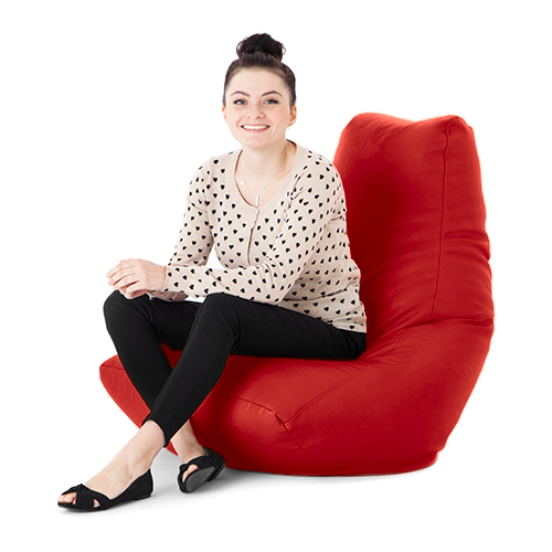 kunstleder erwachsene sitzsack gaming sessel gamer highback sitz gro xxl ebay. Black Bedroom Furniture Sets. Home Design Ideas