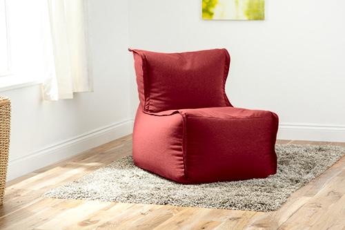wine wool feel modular sectional bean bag sofa zip together seat rh ebay co uk