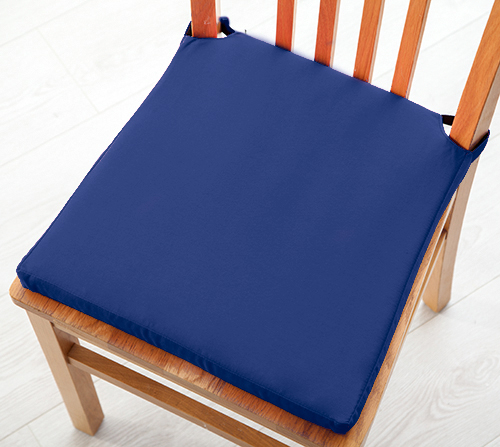 Seat Pad Cushions With Velcro Fastening Dining Kitchen