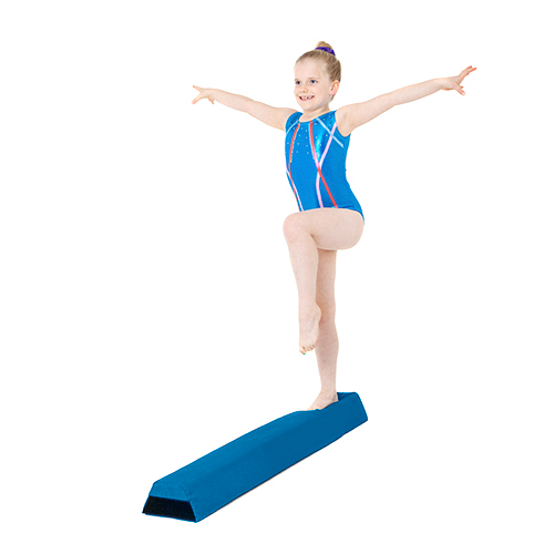 Water Resistant Fabric Foam Gymnastics Balance Beam Home