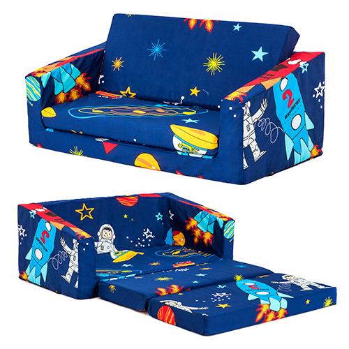 lily kids flip out sofa sleep over fold chair z bed mattress childrens furniture ebay. Black Bedroom Furniture Sets. Home Design Ideas