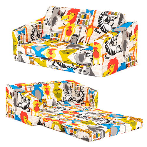 Flip Out Foam Sofa Nz: Lily Kids Flip Out Sofa Sleep Over Fold Chair Z Bed