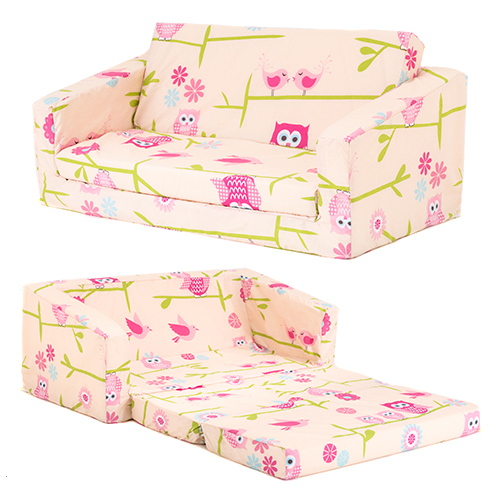 lilie kinder sofa zum ausklappen bernachten fold sessel z bett matratze m bel ebay. Black Bedroom Furniture Sets. Home Design Ideas