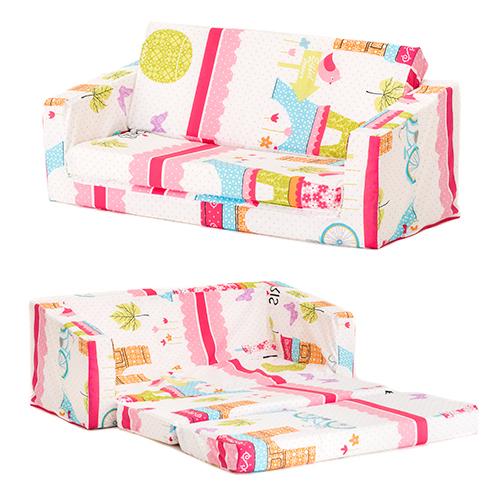 lilie kinder sofa zum ausklappen bernachten fold sessel z bett matratze m bel ebay. Black Bedroom Furniture Sets. Home Design Ideas