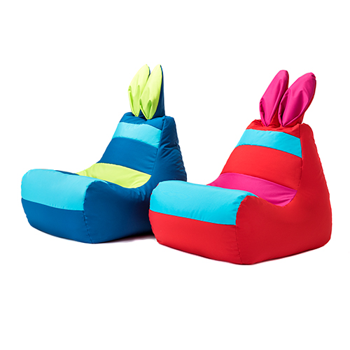Bunny Bean Bag Rabbit Ears Gaming Arm Chair Seat Beanbag