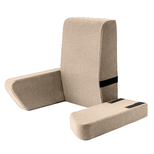 Latte Una Bed Rest Support Pillow Reading Cushion Mobility