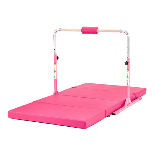 Zoe Gymnastics Junior High Bar Training Equipment Home Gym Height Adjustable