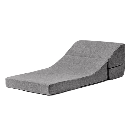 Jaxon Pewter Single Chair Seat Foam Sofa Bed Fold Out