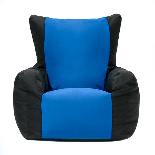 layla two tone gaming bean bag gamer arm chair indoor. Black Bedroom Furniture Sets. Home Design Ideas