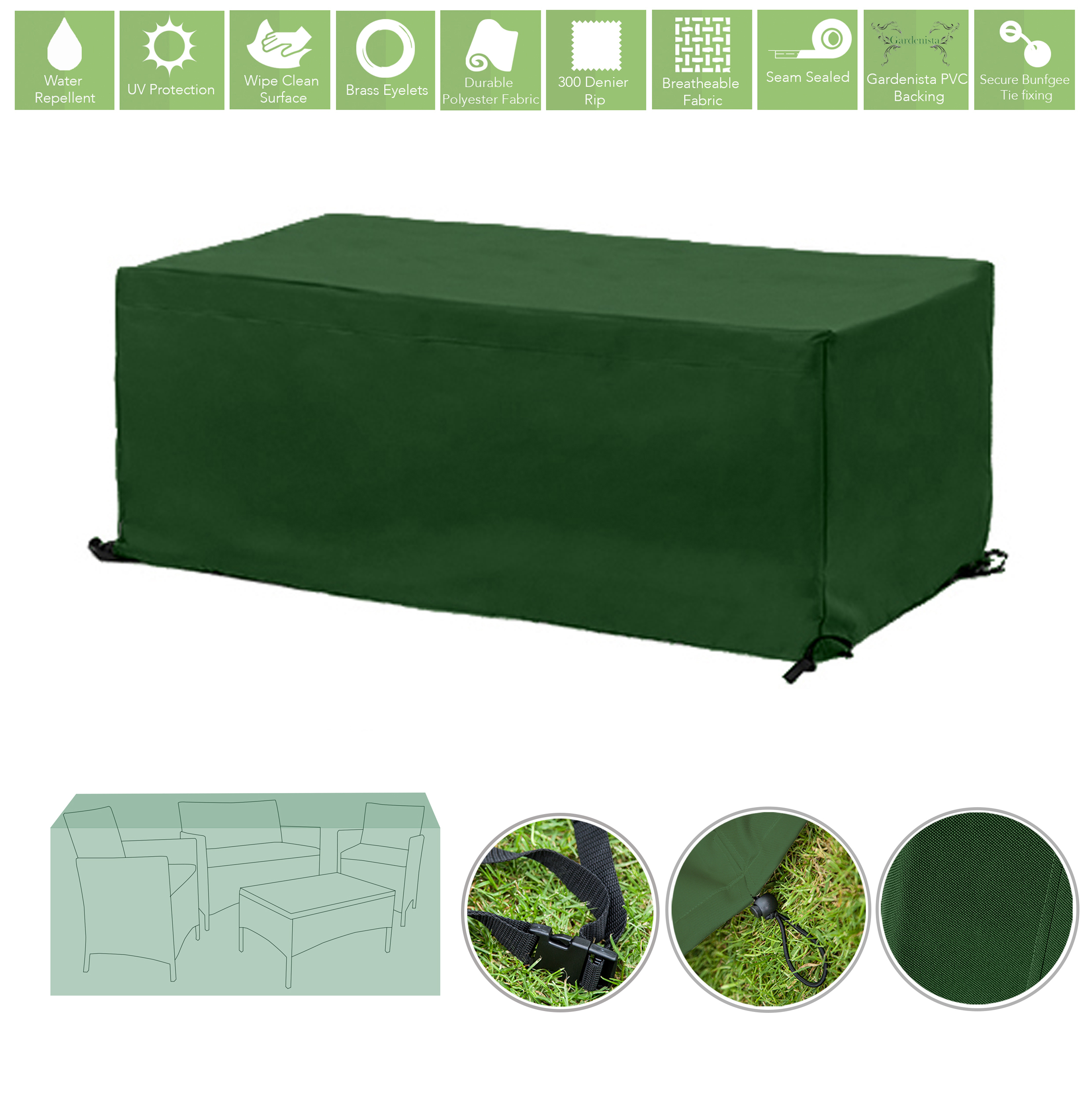 Heavy Duty Outdoor Furniture Covers Green
