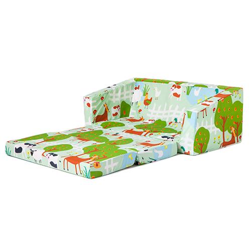 Children Folding Sofa Bed Futon Guest Mattress Fold Out