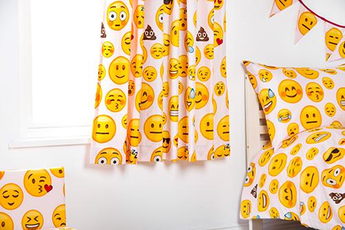 Childrens Nursery Bedroom Curtains & Tiebacks Pencil Pleat