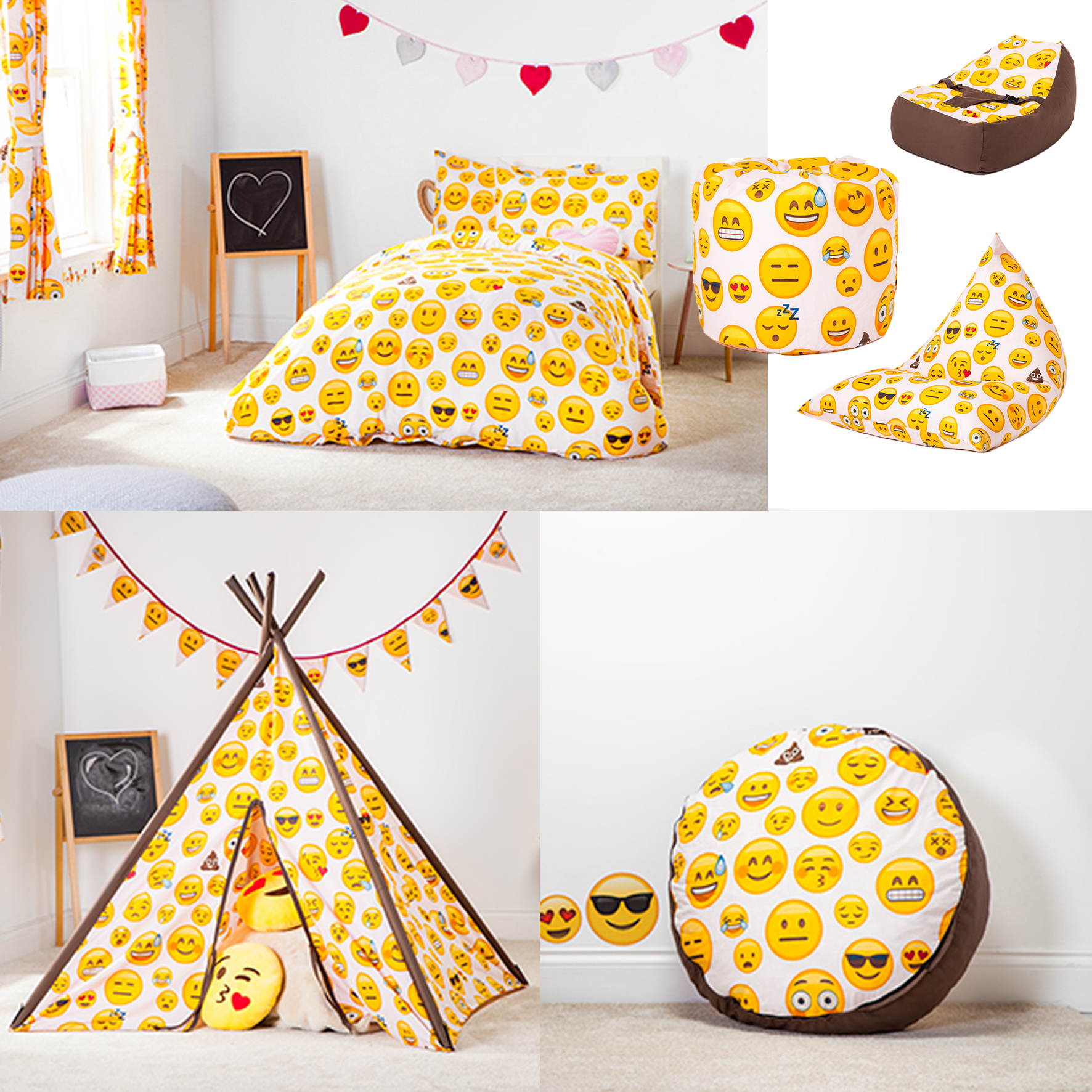 Emoji Girl Design Children S Bedding Amp Bedroom Furniture